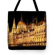 Hungarian Parliament Building Tote Bag