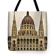 Hungarian Parliment Building Tote Bag