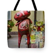 Hungry Alien Tote Bag