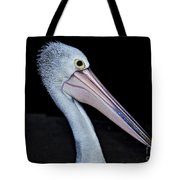 Hungry Pelican Tote Bag
