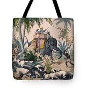 Hunting: Big Game, 1852 Tote Bag