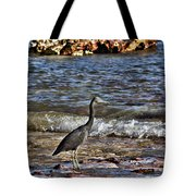 Hunting In The Shallows Tote Bag