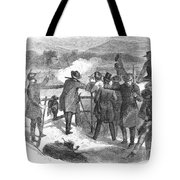Hunting: Turkey, 1867 Tote Bag