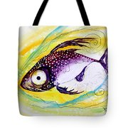Hurricane Fish 7 Tote Bag
