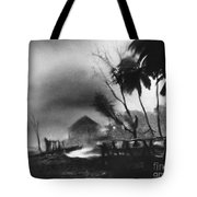Hurricane In The Caribbean Tote Bag