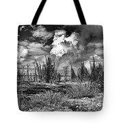 Hurricane Isaac Clouds Tote Bag