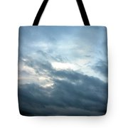 Hurricane Isaac Storm Clouds Tote Bag