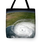 Hurricane Rita Tote Bag