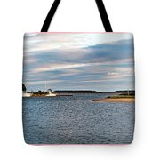 Hyannisport At Sunset Tote Bag