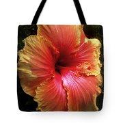 Hybiscus Multi Colored Tote Bag