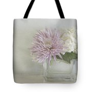 Hydrangea And Mum Tote Bag