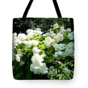 Hydrangeas And A Rose Tote Bag