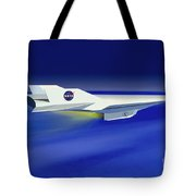 Hyper-x Hypersonic Aircraft Tote Bag