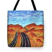 I - 15 Nevada To California Tote Bag