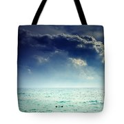 I Am Alone Tote Bag by Stelios Kleanthous