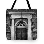 I Am The Door Tote Bag