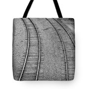 I Curve To The Left Tote Bag