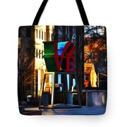 I Did It For Love Tote Bag