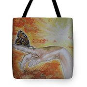 I Dreamed About My Butterfly Tote Bag