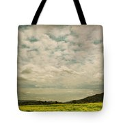 I Just Sat There Watching The Clouds Tote Bag