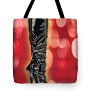 I Love The Night Life Patent Boots Tote Bag