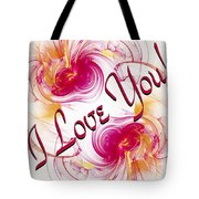I Love You Card 1 Tote Bag