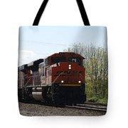 I See The Train A Comin' Tote Bag