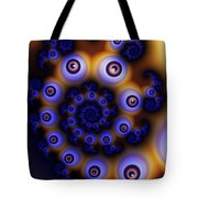 I Spiral With My Little Eye Tote Bag