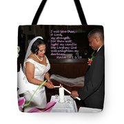 I Will Love Thee Tote Bag