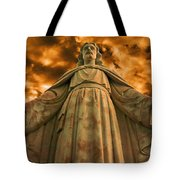 I Will Save You Tote Bag