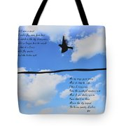 I Wish I Were A Bird Tote Bag