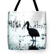 Ibis By Pintail Nature Drive Cameron Prairie Nwr La Tote Bag