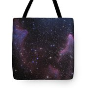 Ic 59 And Ic 63 Near Gamma Cas Tote Bag