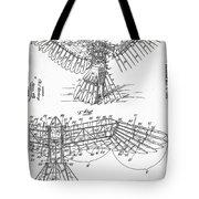 Icarus Patent 1889 Tote Bag