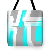 Ice And Snow Tote Bag