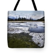 Ice And Water Vermilion Lakes Tote Bag