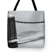 Ice Barrier Tote Bag
