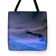 Ice Blue Stone Tote Bag