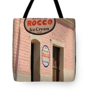 Ice Cream Shop In Todos Santos Tote Bag