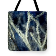 Ice Crystals - Abstract Tote Bag