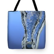 Ice Cube Dropped In Water Tote Bag