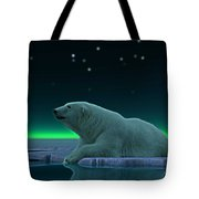 Ice Edge Tote Bag