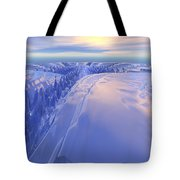 Ice Fissure Tote Bag