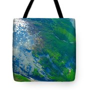 Ice Patches Tote Bag