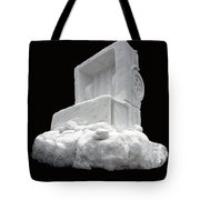 Ice Snow Truckers Tote Bag