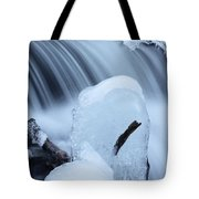 Ice Tombstone Frozen In Time Tote Bag
