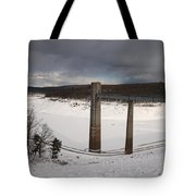 Ice Tower Catwalk Tote Bag