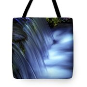 Ice Water Blue Tote Bag