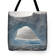 Iceberg With A Natural Arch, Antarctic Tote Bag