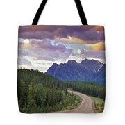 Icefields Parkway, Jasper National Tote Bag